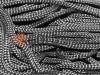 Шнур 5 мм в рулоні без наповнювача, колір чорний оптом і вроздріб від 1 м