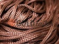 Шнур для одягу 5 мм пустотілий, колір коричневий 041