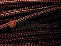 Cord for clothes 5 mm hollow, color brown 046