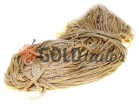 Cord for clothes 5 mm hollow, color beige 126