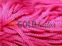Шнур для одягу 5 мм пустотілий, колір рожевий 009
