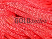 Шнур для одягу 5 мм пустотілий, колір червоний 010