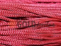 Шнур для одягу 5 мм пустотілий, колір червоний 011