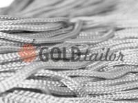 Cord for clothes 5 mm hollow, color gray 106