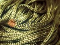 Шнур для одягу 5 мм пустотілий, колір оливковий 090