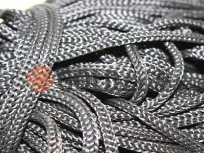 Шнур 5 мм в рулоні без наповнювача, колір сірий 116 оптом і вроздріб від 1 м