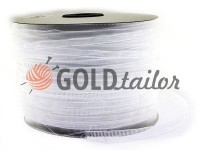 Webbing for curtains organza white 25 mm