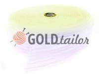 Webbing for curtains organza white 60 mm