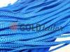Шнур плоский 7 мм в рулоні без наповнювача, колір блакитний оптом і вроздріб від 1 м