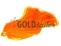 Cord braided flat 7mm, color orange