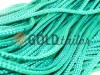 Шнур плоский 7 мм в рулоні без наповнювача, колір зелений оптом і вроздріб від 1 м