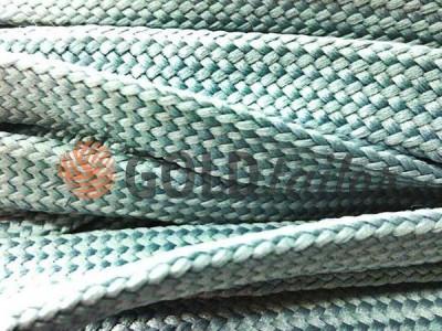 Шнур плоский 10 мм в рулоні без наповнювача, колір сірий оптом і вроздріб від 1 м