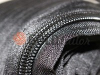 Zipper spiral roll black type 3, type 5, type 7, type 8, type 10