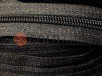 Zipper spiral reinforced roll black type 7