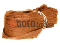 Zipper spiral roll brown type 3, type 5, type 7, type 8, type 10