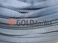 Zipper spiral roll grayblue type 3, type 5, type 7, type 8, type 10