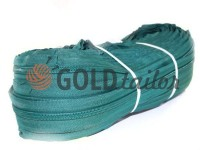 Zipper spiral roll green type 3, type 5, type 7, type 8, type 10