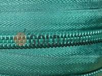 Блискавка спіральна рулонна зелена тип 3, тип 5, тип 7, тип 8, тип 10