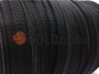 Zipper spiral reinforced roll black type 4, type 6, type 8