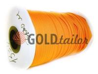 Молния спиральная рулонная оранжевая 034 тип 3