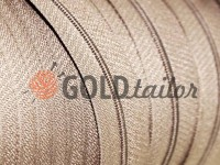 Zipper spiral roll beige 171 type 3