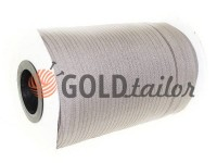 Zipper spiral roll gray 107 type 3