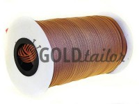 Zipper spiral roll brown 155 type 3
