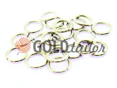 Купити кільце сталеве 10 мм, товщина 1,8 мм, колір нікель від 1 шт оптом і вроздріб