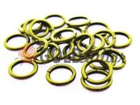 Кільце сталеве 10 мм, товщина 1,8 мм, колір антик