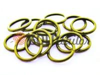 Кільце сталеве 15 мм, товщина 1,8 мм, колір антик