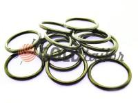 Кільце сталеве 25 мм, товщина 2,5 мм, колір темний нікель