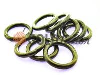 Кільце сталеве 25 мм, товщина 5 мм, колір темний нікель