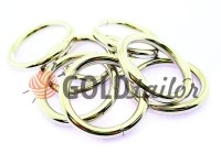 Ring steel 32 mm, thickness 5 mm, color nickel