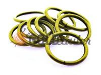 Кільце сталеве 32 мм, товщина 4 мм, колір антик