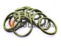 Кільце сталеве 32 мм, товщина 4 мм, колір темний нікель