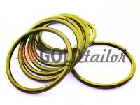 Кільце сталеве 50 мм, товщина 4 мм, колір антик