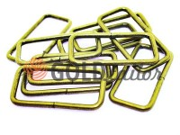 Frame metal 38 mm, thickness 3 mm, color antique