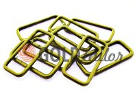 Frame metal 38 mm, thickness 2,5 mm, color antique
