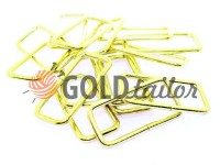 Frame metal 38 mm, thickness 2,5 mm, color gold