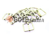 Limiter metal 15 mm, thickness 2 mm, color nickel, 10 pcs