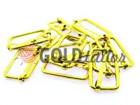 Limiter metal 25 mm, thickness 2,5 mm, color gold, 10 pcs