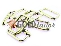 Limiter metal 30 mm, thickness 4 mm, color nickel, 10 pcs