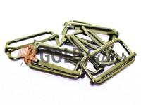 Limiter metal 32 mm, thickness 2,3 mm, color black nickel, 10 pcs