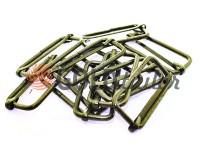 Limiter metal 38 mm, thickness 2,5 mm, color black nickel, 10 pcs
