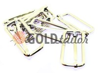 Limiter metal 41 mm, thickness 4 mm, color nickel, 10 pcs