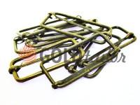 Limiter metal 40 mm, thickness 2 mm, color antique, 10 pcs