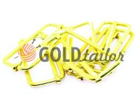 Limiter metal 50 mm, thickness 3 mm, color gold, 10 pcs