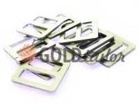 Обмежувач алюмінієвий 22 мм, товщина 3 мм, колір нікель