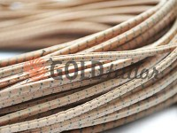 Cord elastic beige to point 3 mm