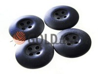 Button NATO 20 mm four holes, black